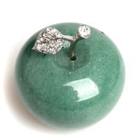 Decorazione artigianale di cristallo di cristallo di Aventurine Green Verde naturale Avg.1.77inches