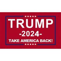 Трамп Флаг 2024 Избирательный баннер Дональд Храните Америку Большое снова Иванка Флаги 150 * 90см 3x5ft 1935 v2