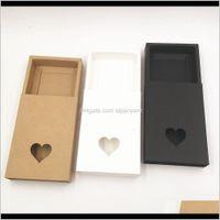 Wrap 20Pcs Lot Paper Bronzing Der Gift Box Wedding Party Supply For Cake Jewelry Storange Wmtezy Jckyu 7Nbw0