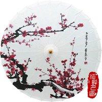 Umbrellas JPY Papier de pêche Papier Papier de Papier Projet de parapluie Accueil Accessoires Accessoires Art Peint Poignée Décorative Poignée longue Bamboo