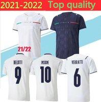 Jersey Soccer Home Jorginho El Shaarawy Bonucci Insigne Bernardeschi Adulto Camisas de futebol Tamanho S-2XL