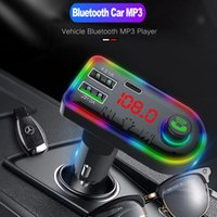 5V 3.1A FM Transmitter Bluetooth 5.0 Car MP3 Wireless Handsfree Kit U Disk TF Music Player with PD Charger