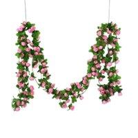 100٪ العلامة التجارية الاصطناعي ديكور المنزل الوستارية الحرير زهرة عطلة الديكور حفلات الزفاف الأحداث محاكاة زهرة الوردي الزخرفية الزخرفية