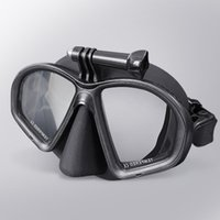 Diving Masks 2021 Myopia Scuba Mask Deep Dive For Camera Gear Swimming Googles Nearsighted Lenses Short-sighted Free