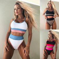 Sexy Designer of Women's Swimwear Bikini 2021 Single Swimsuit Splicing Split B201w