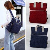 mulitfunction 미라 기저귀 가방 대용량 지퍼 여성 여행 쇼핑 배낭 숄더 핸드백 아기 기저귀 간호 가방