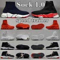 Balenciaga speed trainer Sock 1.0 shoes man woman Walking Shoe Hott Selling Original Paris Lady Black White Red Lace Socks men women Sports Sneakers Top Boots Clear Sole Sneaker