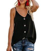 V-Ausschnitt Designer Femmes Hauts Hastigte Weste Luxus Frau Blusen Frühling Tank Top Frauen Sommer T-Shirts Coole ärmellos sexy