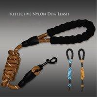 Собака ошейники поводки препарат 1.5 м отражающий нейлон круглый поводок тянуть ремень щенок гуляя