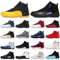 12 12S Top Qualité Chaussures Jumpman 23 Femmes Mens Sneakers Twist XII Pierre Bleu Blue University Gold Glass Game Game Dark Concord Men entraîneurs Taille 13