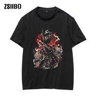 Zsiibo marque crâne courte manches courtes punk vêtements gothique t-shirts drôles t-shirts t-shirts hip hop haute qualité hy1mc84