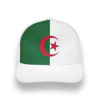 Cezayir Erkek Gençlik Ücretsiz Custom Made Adı Fotoğraf DZA Islam Unisex Şapka DIY Arapça Cezayir Arap Baskı Metin Logosu DZ Boy Beyzbol Şapkası