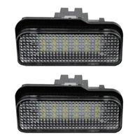 2 шт. Светодиодные лицензионные фонари для W211 W203 5D W219 R171 Номерные лампы 12 В 6500К Специальная лампа - рабочий свет