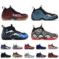 Vente en gros 2021 Penny Hardaway Shoe Mousse One Beijing Noir Aurora Top Qualité Hommes Sports Basketball Chaussures de basket-ball éléphant Lava Jumpman Baskets Sneakers EUR 36-47