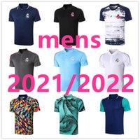 22 22 레알 마드리드 폴로 유니폼 디자이너 셔츠 남성 축구 유니폼 Maillot 드 Foot 2021 2022 망 축구 선수 버전 Camisa Futebol 106