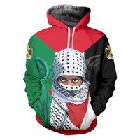 Men's Hoodies & Sweatshirts Moletom Com Capuz Palestino Masculino Grátis 3d Palestina Cachecol Menina Primavera Outono Estampa Pulôver De Ma