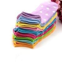 12pcs 6pair Women Socks Heart Dot Solid Cute Socks Short Woman Slippers Cotton Blends Low Cut Ankle Boat Socks Summer