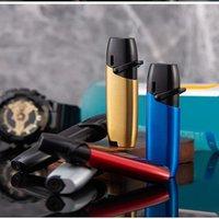 2021 Torch Gas Lighter Jet Flame Spray Butane Direct Kitchen Barbecue Metal Turbine Windproof Cigar Lighter