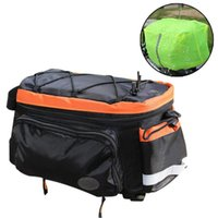 Cycling Bags Waterproof Camping Pannier Rear Rack Bike Trunk Bag Outdoor Sports Large Capacity Carrier Lightweight Luggage Storage