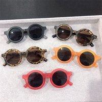 Fashion Round Kids Sunglasses Filles Enfants Goggle Baby Garçons Anti-UV Verres Sun Sun Shades Coloré UV400 Lunettes 997 Y2