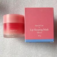Top Quality Lanege Cuidados Especiais Lábios Dormir Berry Mask Lip Balm Batom Hidratante Anti-Envelhecimento Anti-rugas Lz Marca Lipcare Cosmetic 20g