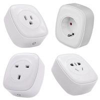 Smart Home Wifi Sockel Power Monitor Voice Remote Control Energie Messen AU UK US EU-Plug für Alexa Google App-Stecker