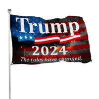 Billigaste 24h Ship 3x5 ft Trump 2024 Ta Amerikanskt Tillbaka 90 * 150cm Flaggor Presidentval Banner Flaggor Siffror Skriv ut 100D Polyester CPA3282