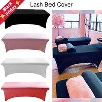 Beauty Salon Massage Elastico Elash Eyelash Extension Bed Cover Trucco Spa Scheda Tavolo Trattamento spandex Panno