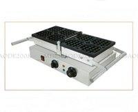 Paslanmaz Çelik Ticari Endüstriyel Belçika Dönen Waffle Makinesi / Elektrikli Dönen Waffle Yapma Makinesi