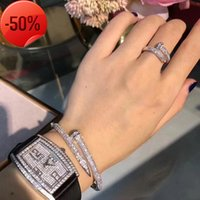 Sternarmband mit 18 Karat echtem Gold, Diamant-Nagel-Armband, japanischer und koreanischer Ringflutplatte