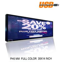 Sinal LED P5 Interior Cor Completa Informações de Rolamento Eletrônico Pode Editar Texto Image Animation Tamanho Ser Personalizado Publicidade Publicidade Placa de Mensagem