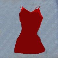 plus size 2XL Women spaghetti strap dresses summer clothing letter print mini skirts fashion seleeveless backless dress 5475