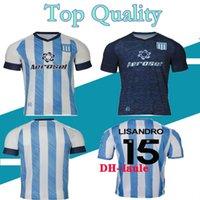 2022 레이싱 클럽 드 Avellaneda 축구 유니폼 홈 10 Rojas 15 Lisandro 팬 버전 28 Chancalay 맞춤형 29 Moreno 2021 22 Reniero 축구 셔츠 22