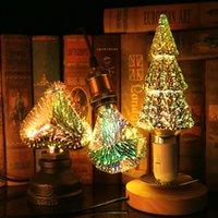 3D Decorative LED Bulbs Christmas Stars Fireworks Lights Retro Holiday Night Lights Novelty Christmas Tree Lights
