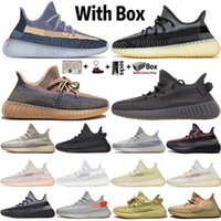 2020 Nuevo Abez Yecheil Reflective Sulfer Asriel Tail Light Kanye West V2 Mujeres Running Shoes 380 Alien Mist Mens Trainers Sneakers Tamaño 13