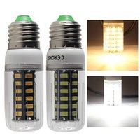 Ampuller Lampada LED Mısır Ampul E27 E26 Düşük Gerilim AC DC 12 V 24 V 36 V 48 V 60 V 8 W Ev Spot Işık 110 V 220 V Titreşimsiz Ücretsiz Enerji Tasarrufu Lambası