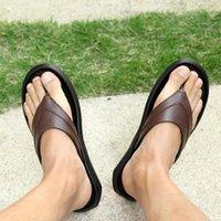 Slippers Slippers-men Men 45 Slipers For Mens Slide Flip Flops Sapatillas Para Hombre Beach Chancla Half Massage Designer