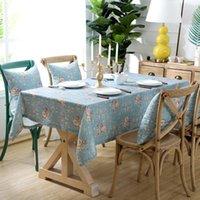 땡 / 웨딩 / 파티 두꺼운 커버 / 코트 가정 장식을위한 플로랄 패턴 방수 테이블 천으로