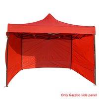 Прочная водонепроницаемая анти-уклон легко использует боковину многоразовый многоразовый палатка палатка боковая панель оксфорд ткань ветрозащитные портативные аксессуары палатки и S