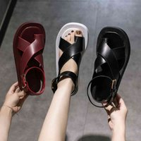 BJYL 2020 Yeni Yaz Kama Espadrilles Kadın Sandalet Açık Toe Gladyatör Sandalet Kadınlar Casual Kadın Platformu Sandalet B787 L0322