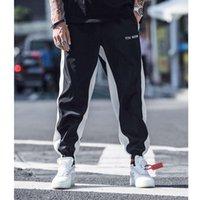 Летние мальчики и девочек хип-хоп брюки повседневные спортивные тонкие разрез свободные лодыжки гарем брюки пробежки для мужчин женщин