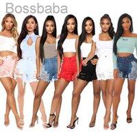 Desinger Sommer Frauen Kurze Jeans Quaste Hosen Hohe Taille Jeans Mode Designer Vintage Shorts Loch Weibliche dünne Hose 88511