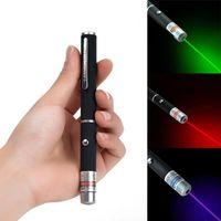 1 PCS 4.5MW High Power Power Lazer Ponteiro 650nm 532nm 405nm Vermelho azul verde laser pig luz caneta laser caneta tática x0524