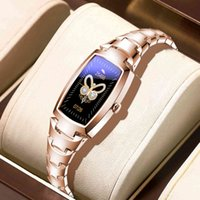Designer Luxury Brand Orologi Donne Smart Fashion As ES Cercle Rate Monitoring Call Reminder Braccialetto fitness per