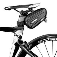 Bisiklet Yansıtıcı Eyer Arka Aracı Çanta Bisiklet Koltuk Kuyruk Sert Bisiklet Çanta Bycicle Aksesuarları Ekipmanları Araba Kamyon Rafları