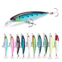 1PCS 9cm 8g Hard Minnow Fishing Lure Artificial Bait Fishing Tackle Plastic Fish Swimbait Japan Wobblers 796 Z2