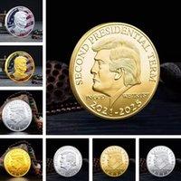 كرافت مطلية بالذهب ترامب عملة عملة انتخابات الانتخابات الرئاسية العملة عملات أمريكا الرئيسة تتفوق على عملات معدنية الحرف ZC192