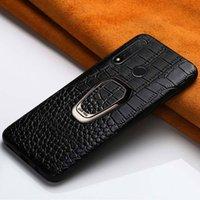 Cas de téléphone cellulaire en cuir d'origine pour Huawei P30 PRO P20 P40 P40 Lite Housse magnétique 40 Nova 5T pour l'honneur 20 PRO 10 9X 8A