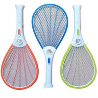 Mosquito Nets Swatter Bug Insect Electric Fly Zapper Killer Racket Rechargeable With LED Flashlight Household Sundries Pest Control