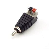 Оптовая продажа BNC ConnectOdcmale женский разъем DC Power Jack Adapter Plug для SMD5050 SMD3528 SMD5730 Одноместный цвет светодиодные полосы RAC мужчина